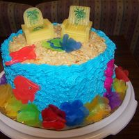Beach Theme   I made this for my Office Manager for her birthday
