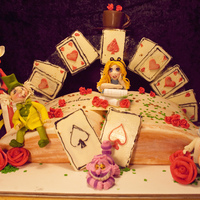 Let The Adventure Begin made out of gumpaste fondant white chocolate