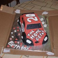 Race Car Birthday Cake  My friend's daughter is a huge racing fan so when she turned 18, I made this cake for her. I just used the car cake pan mold and...