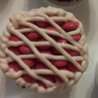 Cherry Pie Cupcakes Idea from What's New Cupcake book