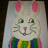 Bunny Cake   My Kids did this ages 12 and 8 I am so proud!!
