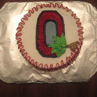 Ohio State buttercream