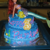 Little Mermaid All Buttercream