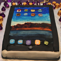 Icake Ipad I made this cake for DH 31st birthday party, i got him an Ipad for his birthday and ipad cake for his surprise party. The cake is...