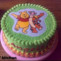 Pooh And Tigger This cake made for the Pooh Bear lover....
