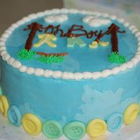 Nightmare Cake This is a WASC cake with buttercream dream...it was extremely humid--the first time I've ever decorated with high humidity--YIKES!!! I...