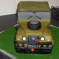 Landrover 50Th Birthday Cake I was asked to make a landrover cake. And due to my sleepless nights over the citeon saxo one i was not looking forward to it. So here is...
