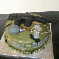 Call Of Duty another call of duty cake