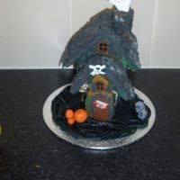 Haunted Gingerbread House A haunted gingerbread house