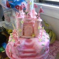 Whimsical Fairy Castle Cake Bottom Pic 1 This is the bottom part of the MMF castle cake I made for me niece last weekend for her 5th birthday. This is the first time I have made a...