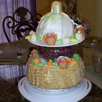 Thanksgiving Birthday Cake