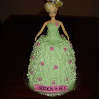 Tink Doll Cake  I loved how this one turned out. The top is MMF and the skirt is all BC. If I had more time I would have figured out some sort of wings for...