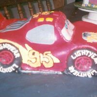 Zack's Lightening Mcqueen