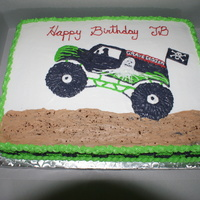 Grave Digger All BC-Not transfer, with some cake crumbs
