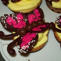 Butterfly Cupcakes chocolate butterflies