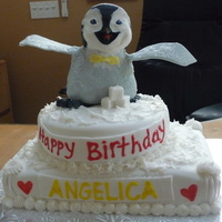 Happy Feet Cake Penguin is made of RCT.