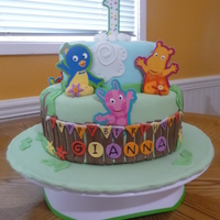 Backyarigans Theme 1St Birthday I made this for a friends daughter's 1st birthday...
