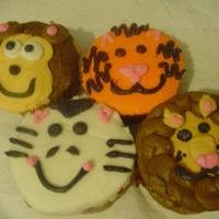 Zoo Cupcakes Zoo animals...
