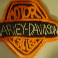 Harley Davidson My dad loves Harley Davidson, so I made the Harley sign for him for his Bday..thanks for looking.