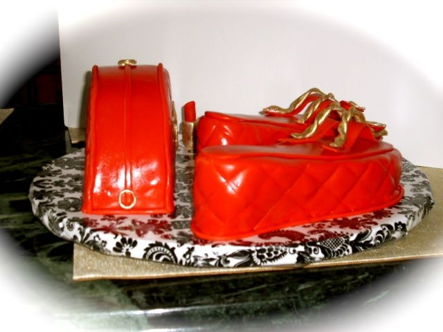Chanel Sandals And Purse