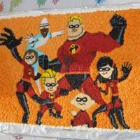 Incredibles   for our Son's birthday. BC, all drawn and filled freehand