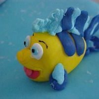 Mermaid Childs Birthday Cake Flounder Mermaid Cake . Flounder the mermaids friend