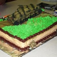 Tank This is a cake that I did for my nephewâs birthday. Iâm new to cake decorating and hope to learn more from all the...