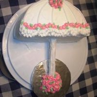 Umbrella This is a cake that I did for my sisterâs bridal shower. Iâm new to cake decorating so itâs not as great as...