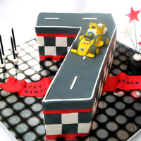 Maxi!! From roary the racing car. All edible and handmade