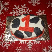 Cow Print Smash Cake matching smash cake for cow print cake