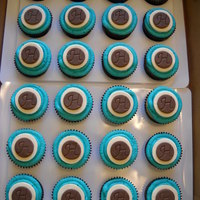 Wedding Cupcakes Tiffany Blue And Brown