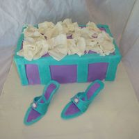 Shoe Box  This was my first shoe box cake, and my first shoes. I am so glad I bought the jem cutter to make shoes. I will be doing tons of them! If I...