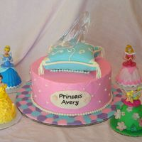 Princess Cake  This was my third and final cake for this weekend. I was so excited to do this one. I designed it myself with inspiration from several...