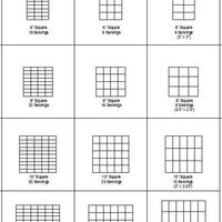 Square Cake Cutting And Servings Guide  Per several requests to post this here, here it is. This is the guide that I created to determine how many servings per each square cake...