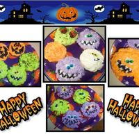 Halloween Cupcakes   Here are a few of the Halloween Cupcakes that I made for the neighbors :) Thanks for looking!!!