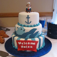 Sailor Monkey Baby Shower