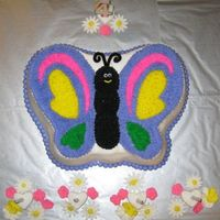Butterfly Cake Made this for my daughter. She loved it!
