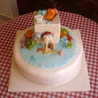 Wash Day Fondant birthday cake for a great woman. It was fun to do it.TFL :-)