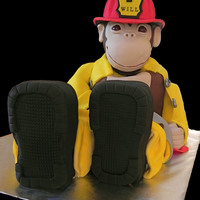 Fire Monkey What a nightmare. This cake taught me the GREAT importance of proper framing for a sculpted cake. Waking up this morning expecting what I...