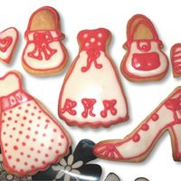 Fashion Cookies   Just for fun, first Fashion cookies.