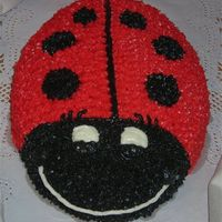 Ladybug I made this cake for my co-worker for her birthday.