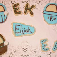 Baby Shower Cookies I made these for my sorority sister's baby shower as favors.