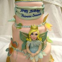 Dscn0914.jpg Fairy princess cake for a little girl's 3rd birthday