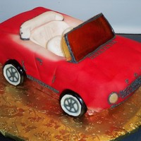 69 Mustang For my brother-in-law...poured sugar windshield.