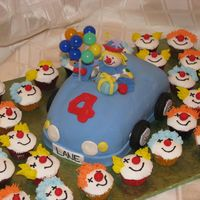 Clowns, Clowns & More Clowns this was my first try on a car cake, I wasn't extremely pleased with the outcome but it worked because it was for a 3 year old! I need...