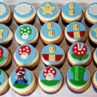 Mario Brothers I had inspiration for the cupcakes from many and CC. They were so much fun to make!