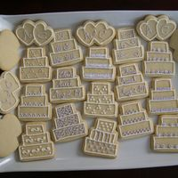 Iced Sugar Cookies - Chris & Aseel Sugar cookies iced with royal icing, made for my stepson and future daughter-in-law's rehearsal dinner this evening. These were to go...