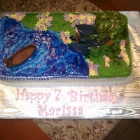 "How To Train Your Dragon Birthday girl wanted a ""How to Train Your Dragon"" cake so we used the cake kit from Decopac, mountain is an individual cake for..."