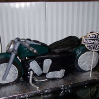 3-D Harley Cake This is the birthday cake i did for my hubby. thanks to the inspiration and help from some of you cc'ers. definately makes me want an...