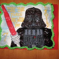 Darth Vader Star Wars Cupcake Cake cupcake cake ...all cupcakes